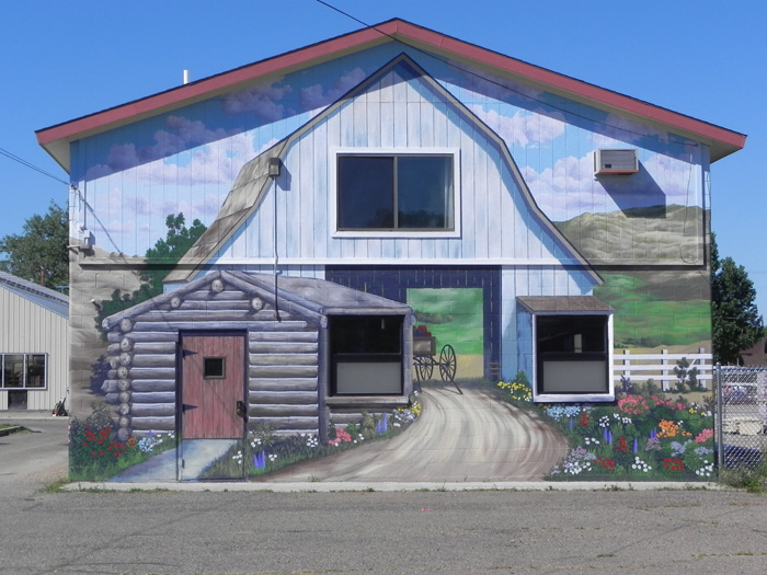 Bob Watts - Forsyth Mural